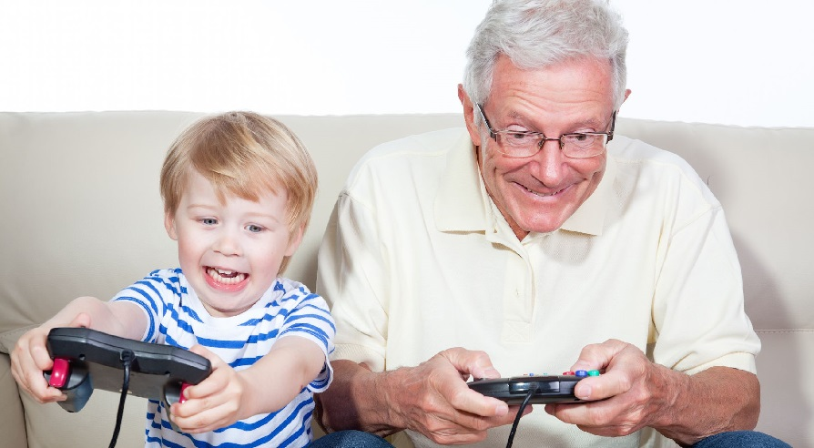 video games with grandparents